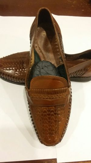 NEW LIFE OUTDOORS REAL LEATHER SHOES - NEW IN THE BOX SIZE 8.5 for Sale in Alexandria, VA