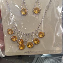 Necklace and earrings for Sale in Murray,  UT