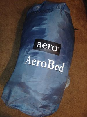 Aero air Bed full size built in air pump for Sale in South Gate, CA
