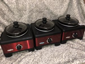 Slow Cooker ( 3 linkable slow cooker) for Sale in Los Angeles, CA