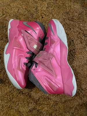 Nike Zoom Soldier 7 LeBron - Breast Cancer Awareness for Sale in Kinston, NC