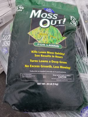 Moss Out! 20 lb. Moss Out! Lawn Granules for Sale in Murrieta, CA