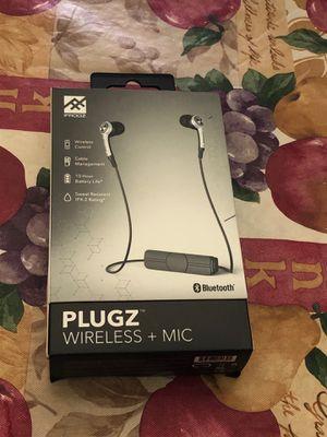 Wireless Earbuds plugz wireless Bluetooth® Earbuds + Wireless Controls for Sale in HALNDLE BCH, FL