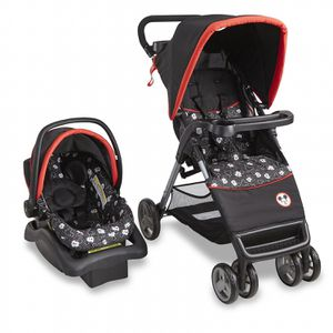 Mickey Mouse travel system stroller car seat for Sale in St. Cloud, FL