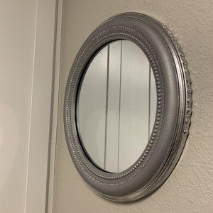 Rustic & Chrome wall mirror for Sale in Atlanta, GA