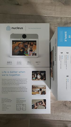 Nucleus Wifi Intercom for Large Homes With ALEXA for Sale in Miami, FL