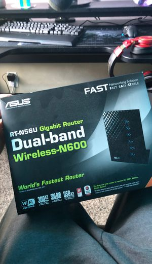 ASUS dual-band wireless-N600 Router for Sale in Pompano Beach, FL