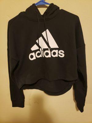 Womens Crop Top Adidas Hoodie Sweater for Sale in Moore, OK