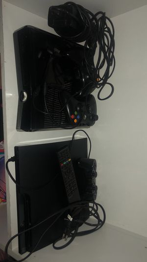 Xbox 360 slim and ps3 for Sale in Phoenix, AZ