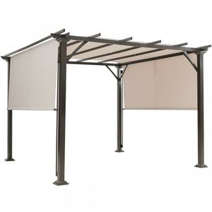 2Pcs Universal Replacement Canopy for Pergola Structure Sun Awning Beige for Sale in Henderson, NV