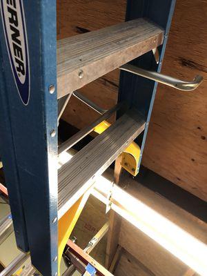 6 ft werner ladder for Sale in Burbank, IL