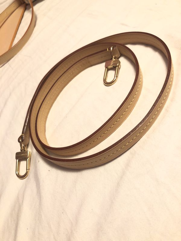 Louis Vuitton LV leather purse strap
