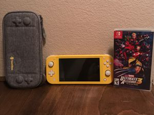 Nintendo lite,Nintendo lite case , 5 games included, like new for Sale in Henderson, NV