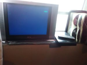 TV DVD player and 50 dvds for Sale in undefined