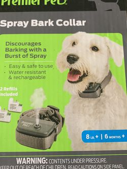Premier Pet Spray Bark Collar- Anti-Bark Collar that is Non-Static and Easy To Use for Sale in Fresno,  CA