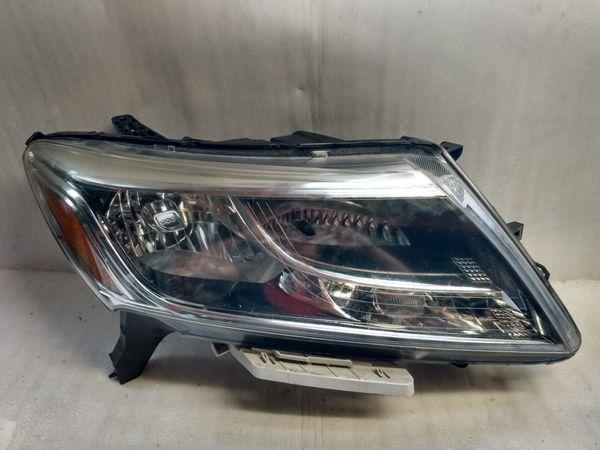 2013 2016 Nissan Pathfinder headlight