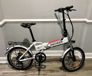"Electric bicycle Folding E-Bike 20"" wheels 250W 7-speed for Sale in Dunwoody, GA"