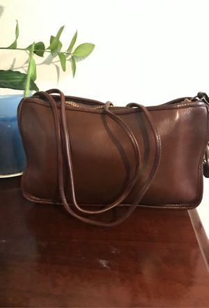 Leather coach crossbody bag for Sale in Santa Ana, CA