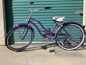 "Purple 26"" Micargi Tahiti woman's beach cruiser for Sale in Buena Park, CA"