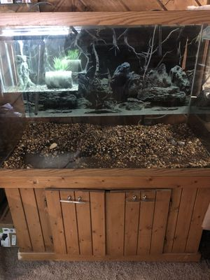 160 gallon aquarium fish tank for Sale in Camano, WA