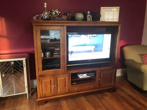 Lowered! Gorgeous entertainment center for Sale in New Lexington, OH