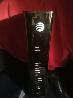 At&t u-verse router/ modem 5268ac for Sale in Martinez, CA