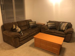 Matching Brown Sofa and Love seat for Sale in Apache Junction, AZ