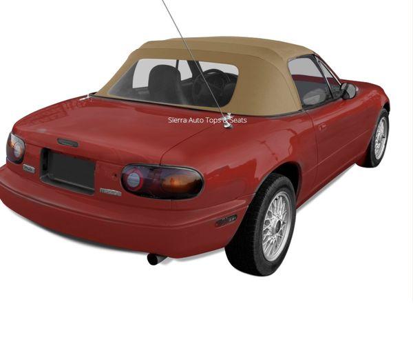 Mazda Miata top-tan