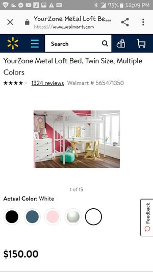 Twin loft bed for Sale in Grove City, OH