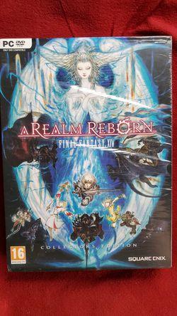 Final Fantast XIV - A Realm Reborn - Collectors Ed (1st original release) PC version for Sale in SeaTac,  WA