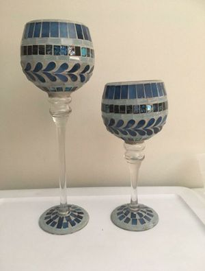 Mosiac Candle Holders for Sale in Miami, FL