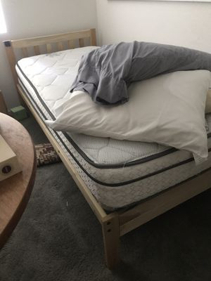 Free Twin XL mattress and bed frame for Sale in Novato, CA