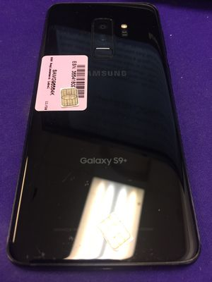 Now in stock Galaxy S9 Plus unlocked with charger and warranty! for Sale in Columbus, OH