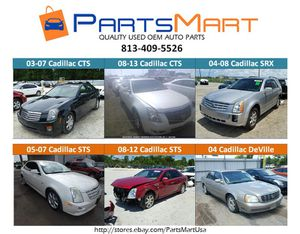Cadillac CTS DeVille STS SRX USED OEM PARTS for Sale in Tampa, FL