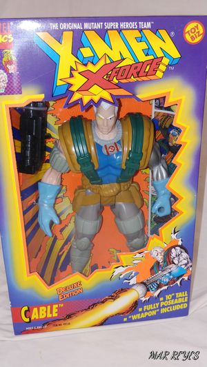 "X-FORCE ""CABLE"" 10 Inch figure by Toy Biz for Sale in Queens, NY"