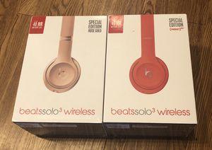 New Beats Solo3 Wireless Headphones for Sale in Denver, CO