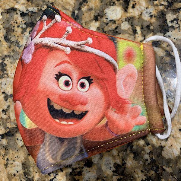 Kids Trolls Face Mask