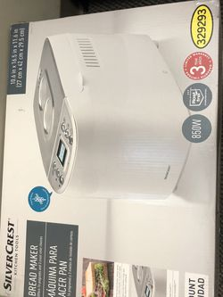 Silver Crest Bread Maker for Sale in Plainview,  NY