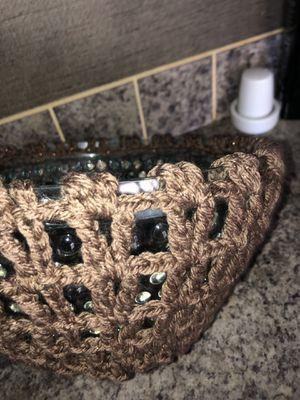 Adorno para Fruteros,aceite,vasos de licuadora. Etc.. también se hacen por pedidos! Ornament for Fruit bowls, oil, blender glasses, etc. Hand-knitt for Sale in Austin, TX