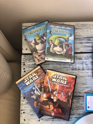 Cartoon Movie Bundle for Sale in Chino, CA