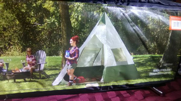 quality design d7dae c1509 7 person teepee tent by Ozark trails for Sale in Puyallup, WA - OfferUp