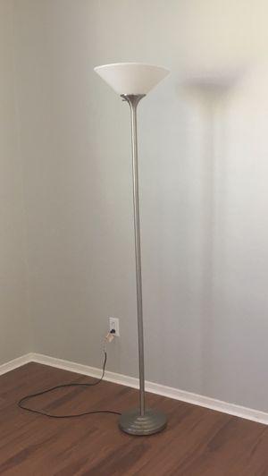 Silver floor lamp for Sale in Ontario, CA