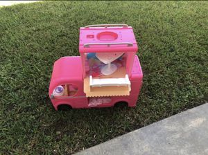 Barbie Pop Up Camper with all accessories for Sale in Hialeah, FL