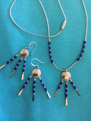Eva's Silver Jewelry / Western style silver set 💙🐳 for Sale in Alexandria, VA