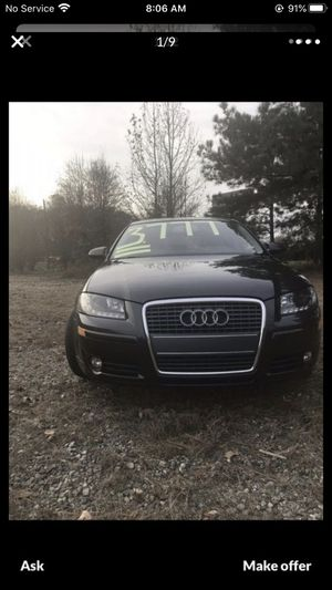 2007 Audi A-3 FWD 2.0 turbocharge with {url removed} heated seats Power Windows, Doors, Mirrored, Alloy Wheels,AM/FM Radio with CD, as well as, Crui for Sale in Spartanburg, SC