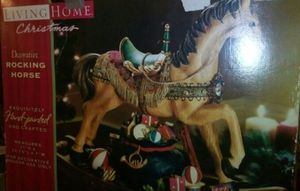 Large Living Home Christmas Decorative Rocking Horse for Sale in Farmville, VA