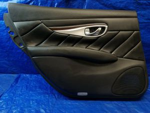 INFINITI Q70L REAR LEFT DRIVER SIDE INTERIOR DOOR TRIM PANEL # 40509 for Sale in Fort Lauderdale, FL