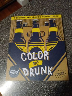 Color Me Drunk Activity Book for Sale in Plainfield, IL