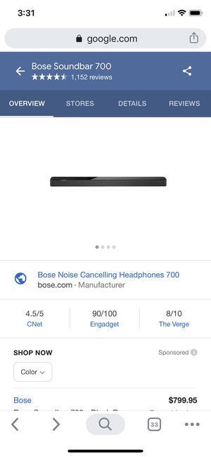 Bose 700 sound bar used for Sale in Byron, CA