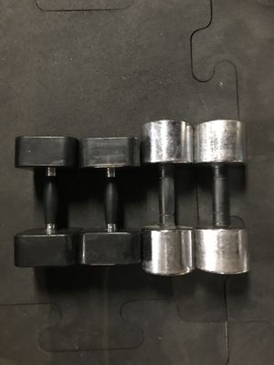 Dumbbells (2x20s 2x25s) for $55 Firm!!! for Sale in Burbank, CA